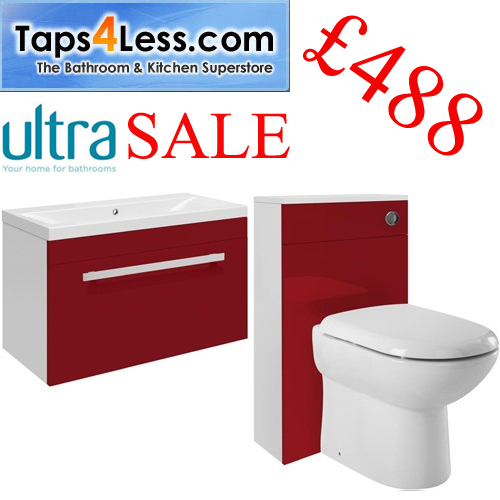 Design Red Bathroom Furniture - Bathroom News