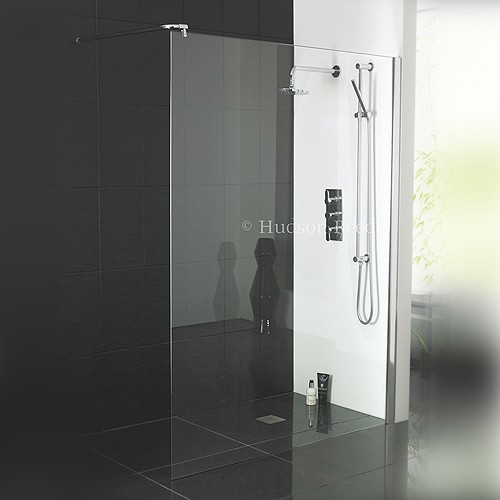 Hudson Reed Wetroom Glass Shower Screens Bathroom News