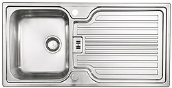 Astracast Sink Montreux 1.0 bowl brushed stainless steel kitchen sink & Extras.