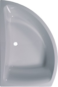 Aquaestil Comet Corner Bath.  Left Handed. 1500x1000mm.