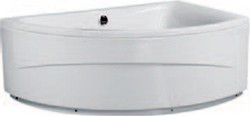 Aquaestil Comet Corner Bath With Panel. Right Handed. 1500x1000mm.