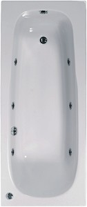 Aquaestil Mercury Aquamaxx Whirlpool Bath. 6 Jets. 1700x700mm.