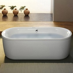 Aquaestil Metauro Classic Freestanding Bath With Panel. 1800x800mm.