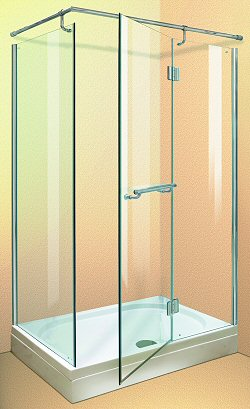 Aqua Enclosures California 1200x800 shower enclosure with tray and waste