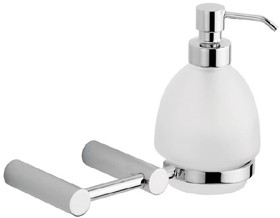 Vado Proteus Soap Dispenser and Holder.