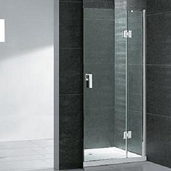 Matrix enclosures hinged frameless shower door 1000mm for 1000mm shower door