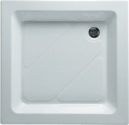 Shires Shower Trays White 760x760mm Square Shower Tray