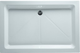 Shires Shower Trays White 1200x900mm Rectangular Shower Tray.