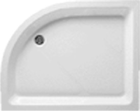 Shires Shower Trays Offset Quad Shower Tray 1200x900mm (Right Hand).