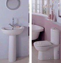Alba 4 Piece Bathroom Suite