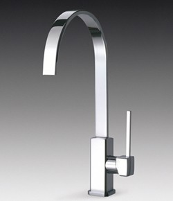 Smeg Taps Imola Single Lever Kitchen Tap With Water Saving Valve.