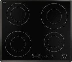 Smeg Induction Hobs Cucina 4 Zone Induction Hob With Touch Controls. 60cm.