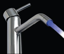 Vado Ethos Basin Tap With LED Backlights & Dynamo Unit (Chrome).