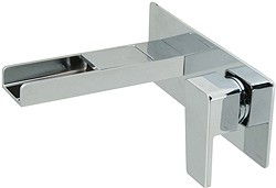 Vado Synergie Wall Mounted Waterfall Basin Tap (Progressive, Chrome).
