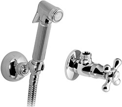 Vado Shattaf Luxury Hand Held Bidet Spray Kit With Stop Cock (Chrome).