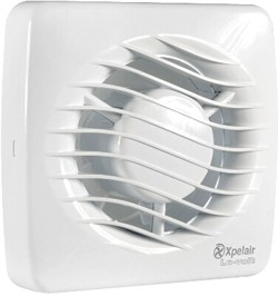Xpelair Lv100 Low Voltage Extractor Fan With Pull Cord 100mm 12v