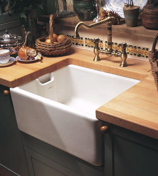 Example image of Astracast Sink Belfast 1.0 bowl ceramic kitchen sink