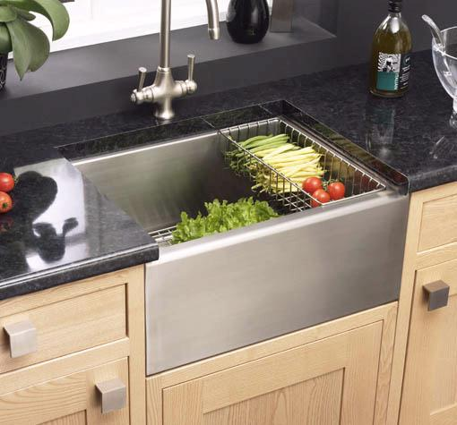 Example image of Astracast Sink Belfast stainless steel 1.0 bowl kitchen sink