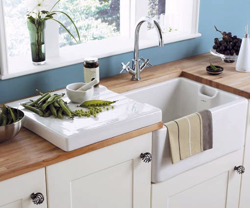 Example image of Astracast Sink Butler Ceramic Drainer 460x460mm