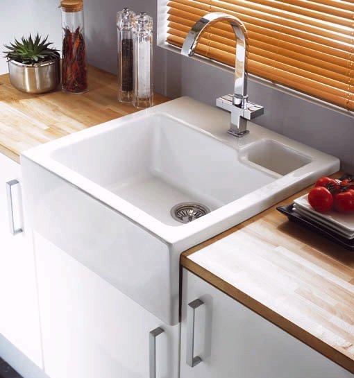 Astracast Sink > Canterbury 1.5 bowl sit-in ceramic kitchen sink