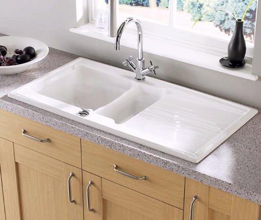 Astracast Sink Equinox 1 5 Bowl Ceramic Kitchen Sink