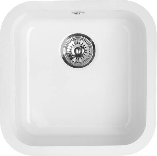 Larger image of Astracast Sink Lincoln undermount ceramic kitchen main-bowl.