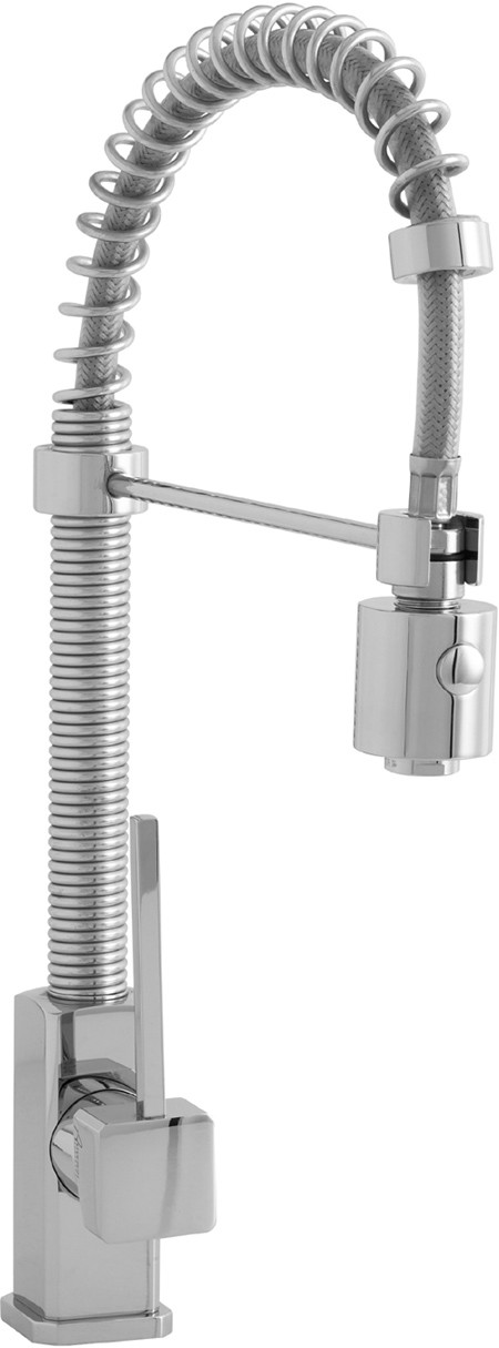 Larger image of Astracast Single Lever Nordic 706 Professional kitchen tap, pull out rinser.