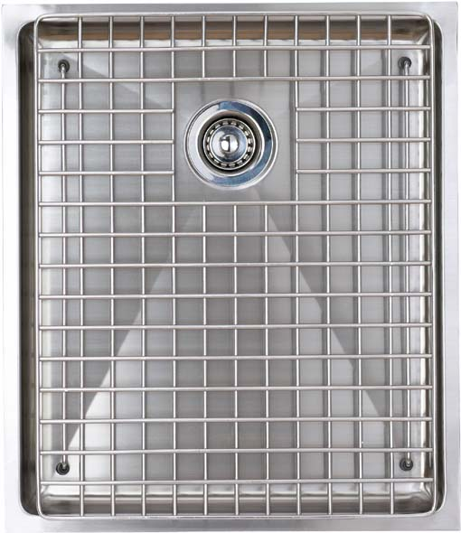 Example image of Astracast Sink Onyx flush inset kitchen drainer in brushed steel finish.