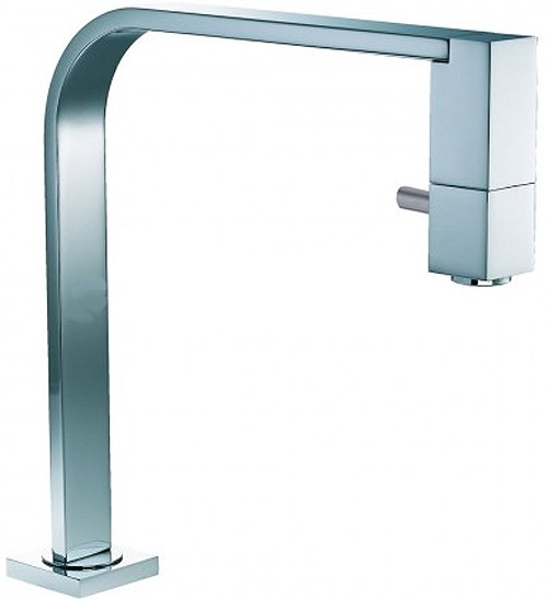 Larger image of Abode Xoyo Monobloc Kitchen Tap With Swivel Body (Chrome).