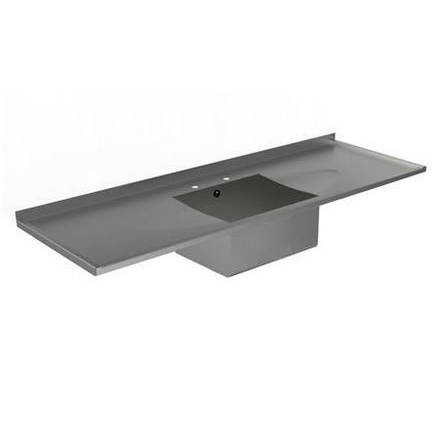 Example image of Acorn Thorn Catering Sink With Double Drainer 1800mm (Stainless Steel).