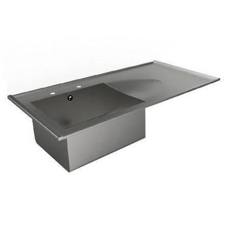 Example image of Acorn Thorn Catering Sink With RH Drainer 1200mm (Stainless Steel).