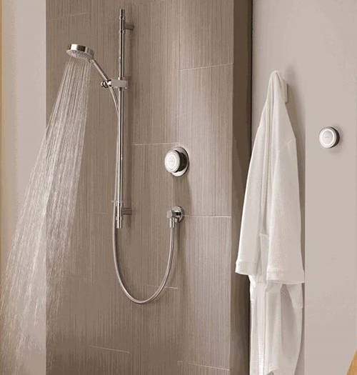 Example image of Aqualisa Rise Digital Shower With Remote & Slide Rail Kit (GP).