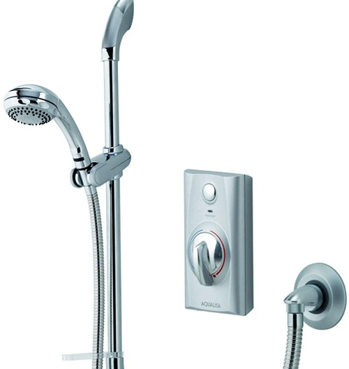 Larger image of Aqualisa Visage Digital Concealed Shower With Slide Rail (HP, Combi).