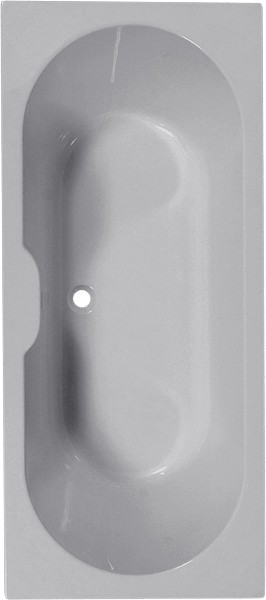 Larger image of Aquaestil Calisto Double Ended Bath.  1700x750mm.