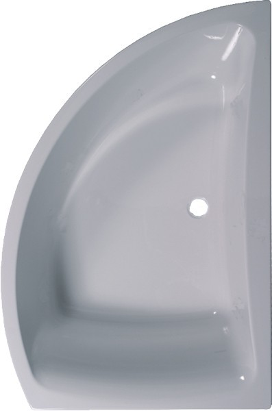 Larger image of Aquaestil Comet Corner Bath With Panel. Right Handed. 1500x1000mm.