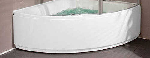 Larger image of Aquaestil Gloria Front Corner Bath Panel (1500mm).