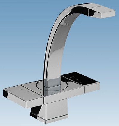 Damixa G Type.Damixa G Type Mono Basin Mixer Tap With Pop Up Click Waste Chrome