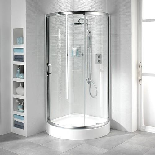 Bristan Java Gt 950mm Quadrant Shower Enclosure Amp Tray