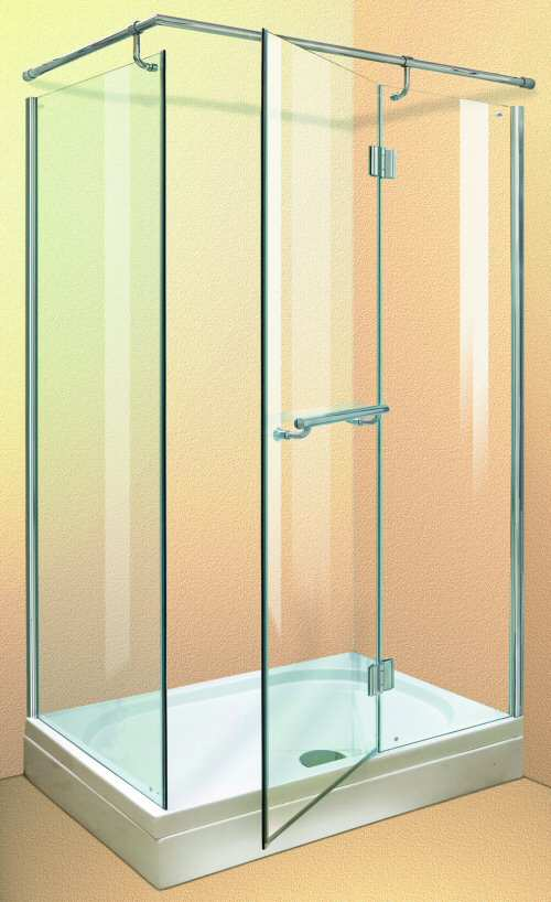 Larger image of Aqua Enclosures California 1200x800 shower enclosure with tray and waste