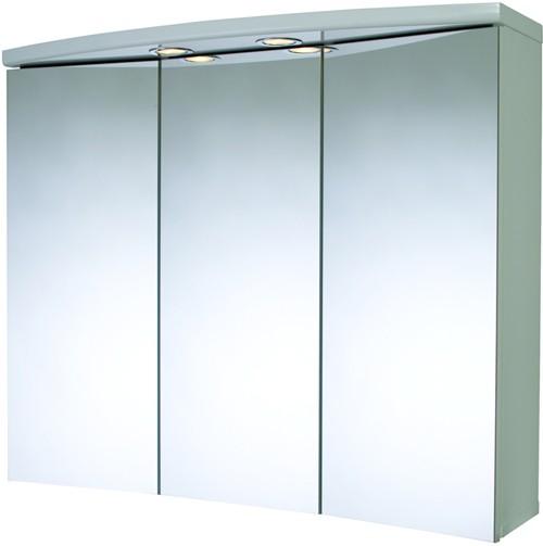 Croydex Cabinets 3 Door Bathroom Cabinet Lights Shaver