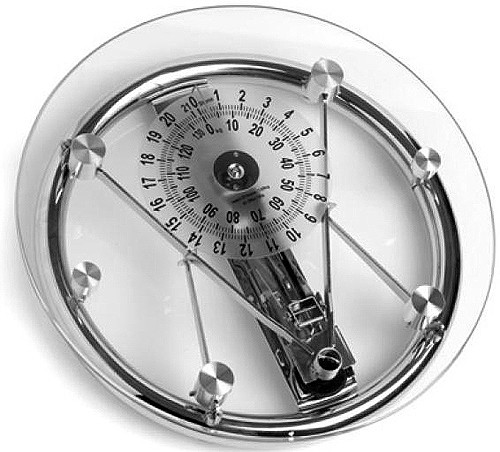 Larger Image Of Croydex Scales Mechanical Glass Bathroom Scales (Glass U0026  Chrome).