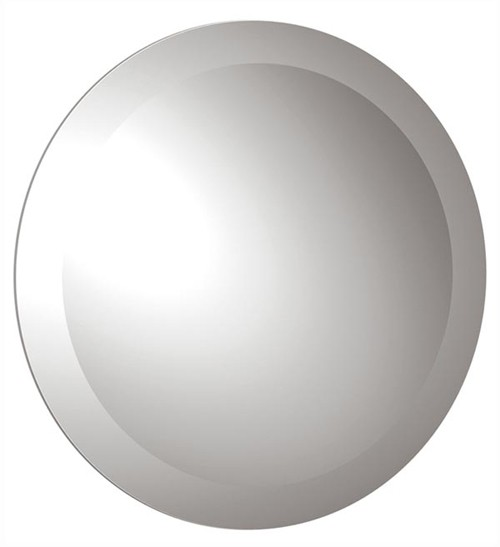 Larger image of Vado Elements Round Wall Mirror. 600mm round.