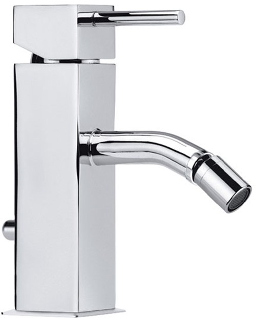 Larger image of Vado Mix2 Mono Bidet Mixer With Pop-Up Waste.