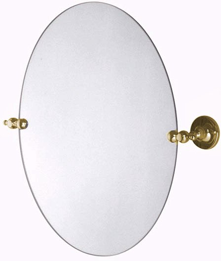 Larger image of Vado Tournament Swivel Mirror. 400x500mm (Gold).
