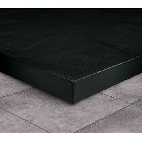 Example image of Slate Trays Rectangular Easy Plumb Shower Tray & Waste 1200x800 (Black).
