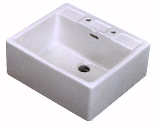 Larger image of Shires Shelf Sink.  24x21x10""