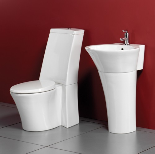Larger image of AKA 4 Piece Bathroom Suite.