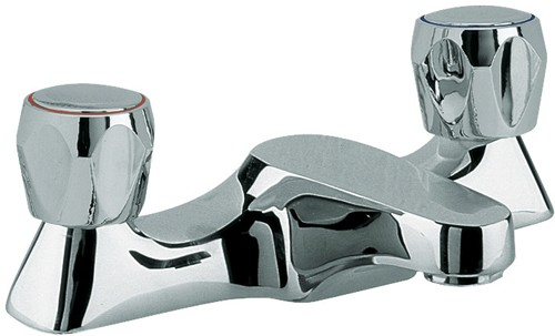 Larger image of Solo Bath filler tap (Chrome)