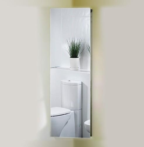 Roma Cabinets Corner Mirror Bathroom Cabinet 380x1200x200mm