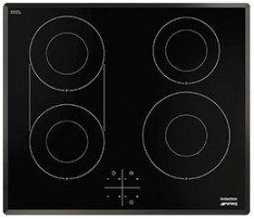 Larger image of Smeg Induction Hobs 4 Ring Induction Hob With Angled Edge. 60cm.